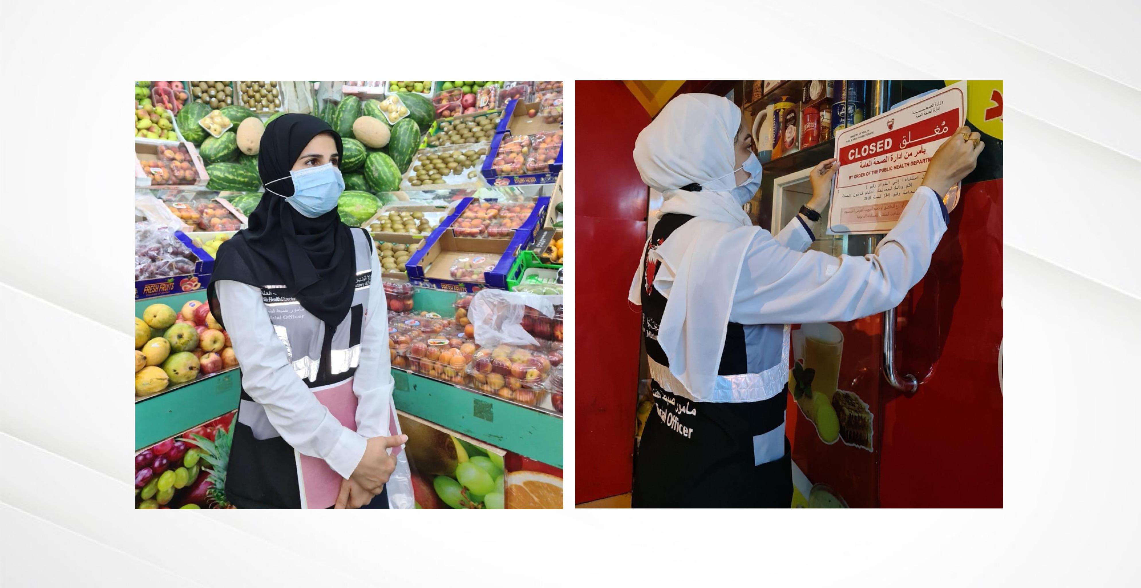 وزارة الصحة: حملات تفتيشية شملت 182 مطعمًا ومقهى ومخالفة 52 منها، ومخالفة مطعم