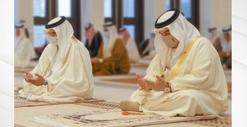 جلالة الملك المفدى يهنئ شعب البحرين والمقيمين بعيد الأضحى المبارك .. ويشكر فريق البحرين على نجاحاته المبهرة في التعامل مع جائحة كورونا