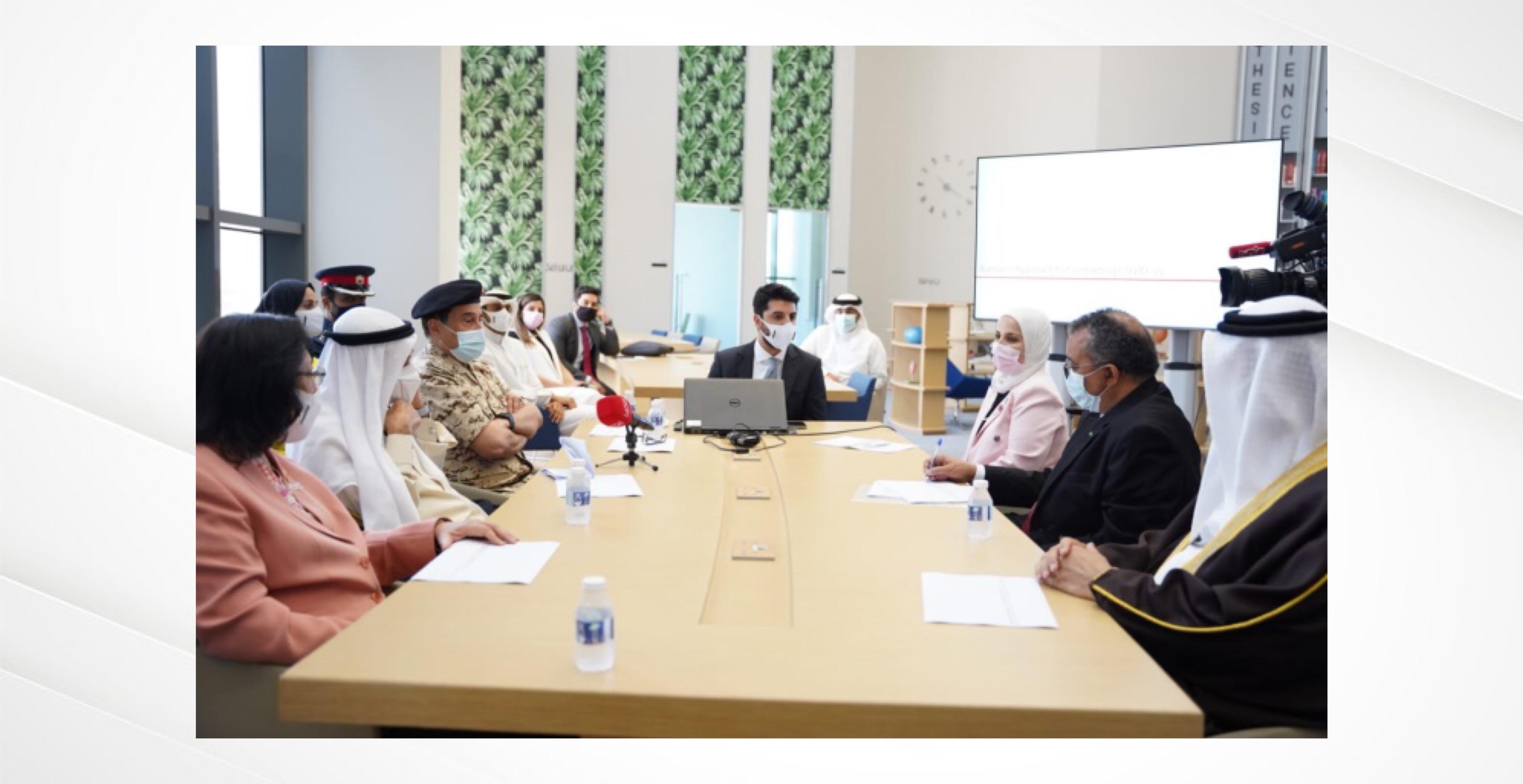 رئيس المجلس الأعلى للصحة: افتتاح المكتب التمثيلي لمنظمة الصحة العالمية يمثل خطوة متقدمة لتعزيز وتيرة التعاون والتنسيق المشترك مع المنظمة