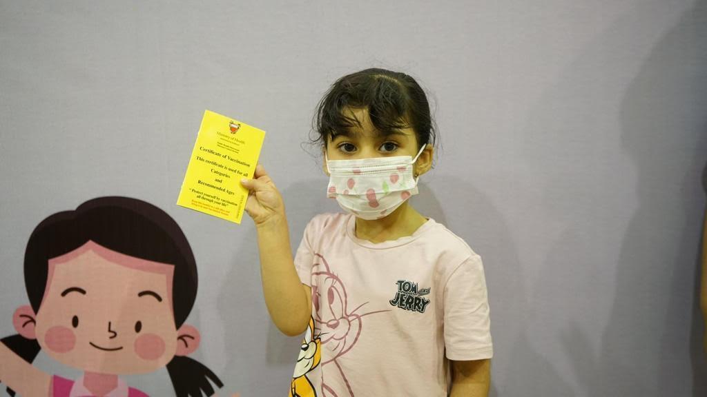 وزارة الصحة تعلن عن بدء تطعيم الفئة العمرية من 3 إلى 11 عاماً بتطعيم (سينوفارم)